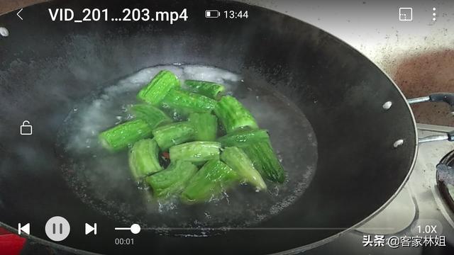 客家酿苦瓜,多加这一步,酿出的苦瓜,吃了还想吃