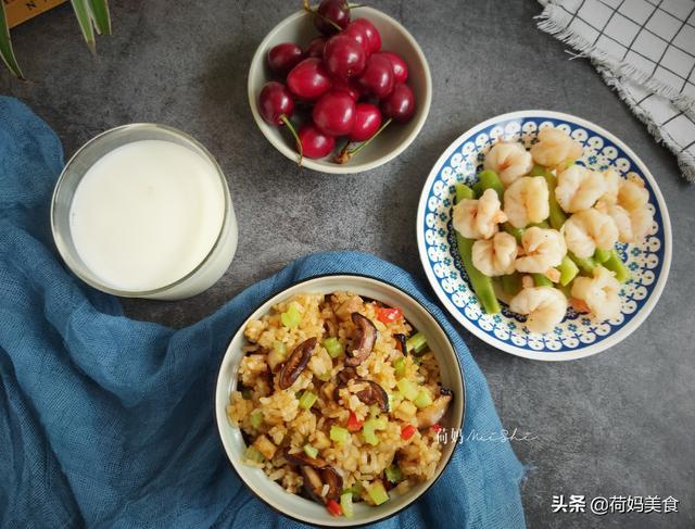 早餐这样吃,简单又便捷,荤素搭配营养好,15分钟搞定孩子早餐