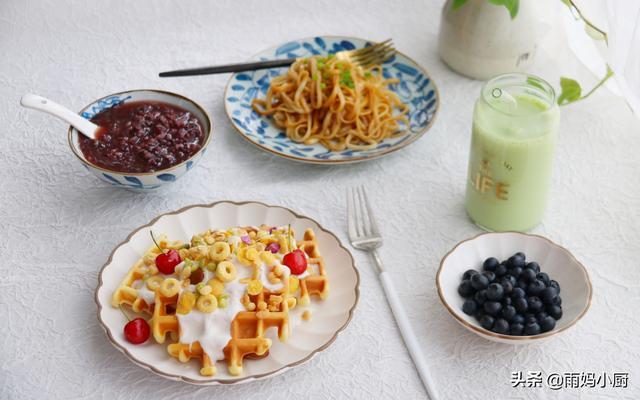 晒晒我家孩子的营养早餐,中西合璧,搭配均衡,再也不怕挑食了