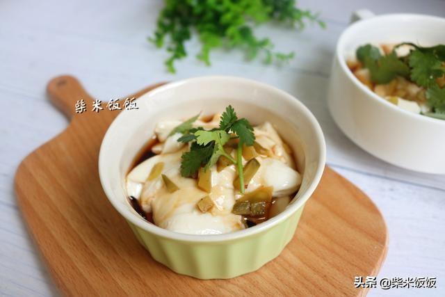豆腐脑还要出去买吗?在家做可简单了!又滑又嫩,比买的好吃!