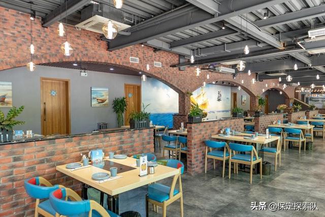 保定这家店超生猛烤海鲜+创意料理,还有露天音乐餐吧引爆夜晚