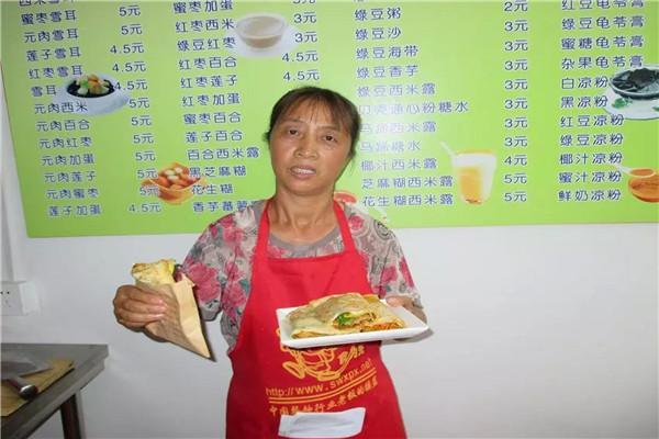 卖杂粮煎饼利润高不高,南京六合学杂粮煎饼技术哪里靠谱
