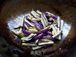 鱼香茄子制作