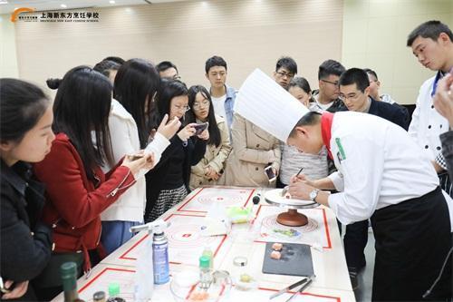 新东方老师二度受邀走进复旦大学 美食讲座越来越受欢迎