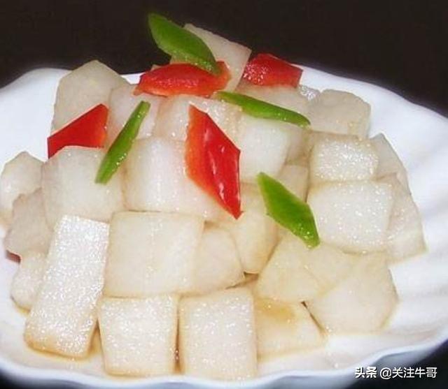 糖醋水晶罗卜下饭太好吃了赶紧学习制作方法家里吃的健康