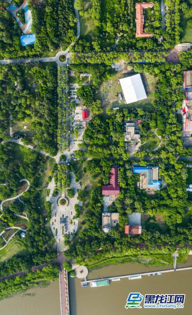 哈尔滨啤酒节园区建设已初具规模