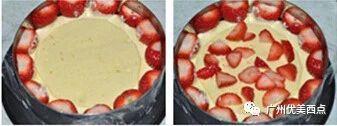 优美西点の草莓乳酪蛋糕 好吃到爆的颜值莓莓~