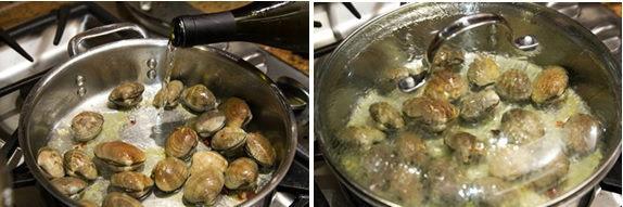 日式蛤蜊意面:简单美味,清新鲜甜,吃上一整盘都不会腻!