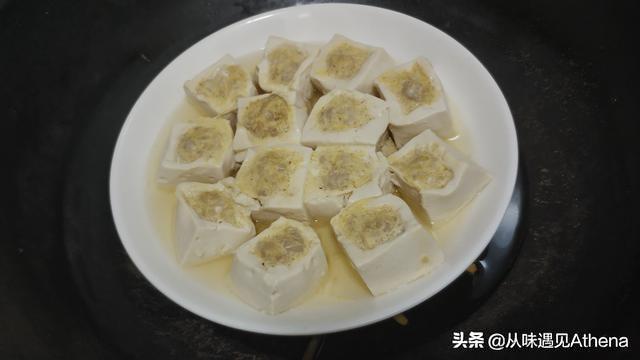 水豆腐酿这样做才老少皆宜,妈妈的独门手艺简单又水嫩的家常做法