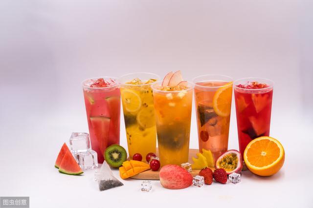 """水果茶在养生圈里只能当""""花瓶"""""""