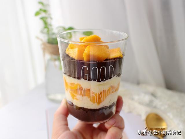 教你在家做网红甜品,零失败免烘烤,香甜细腻,特别适合夏天吃